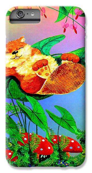 Beaver Bedtime IPhone 6 Plus Case by Hanne Lore Koehler