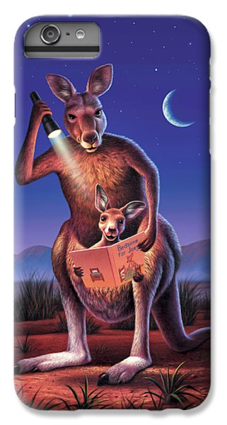 Bedtime For Joey IPhone 6 Plus Case by Jerry LoFaro