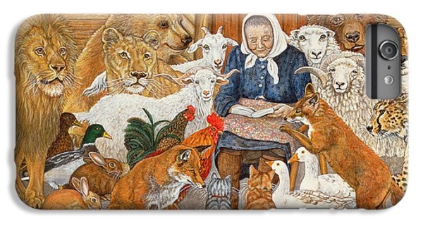 Bedtime Story On The Ark IPhone 6 Plus Case by Ditz