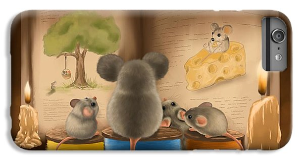 Bedtime Story IPhone 6 Plus Case by Veronica Minozzi