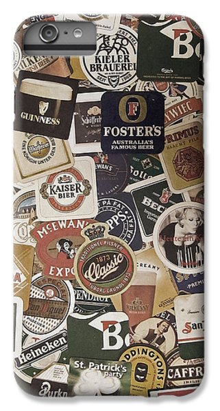 Beers Of The World IPhone 6 Plus Case by Nicklas Gustafsson