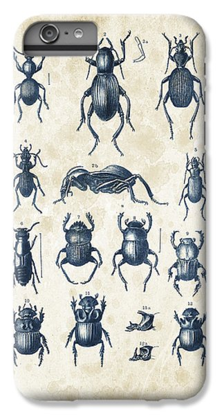 Beetles - 1897 - 01 IPhone 6 Plus Case by Aged Pixel