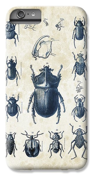 Beetles - 1897 - 02 IPhone 6 Plus Case by Aged Pixel