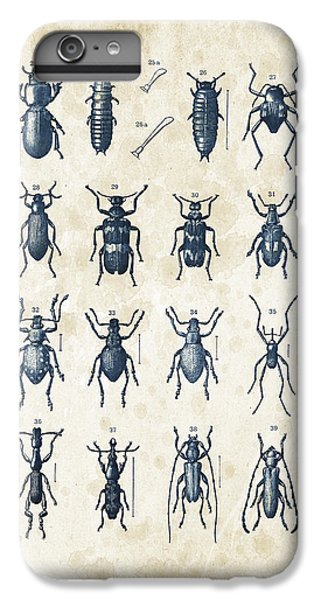 Beetles - 1897 - 03 IPhone 6 Plus Case by Aged Pixel