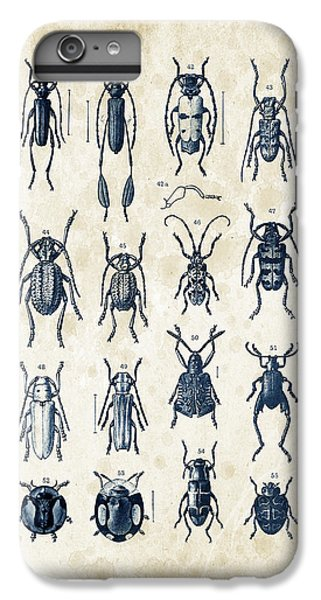 Beetles - 1897 - 04 IPhone 6 Plus Case by Aged Pixel
