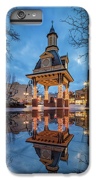 Bell Tower  In Beaver  IPhone 6 Plus Case by Emmanuel Panagiotakis