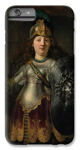 Gorgon iPhone 6 Plus Case - Bellona by Rembrandt Harmenszoon van Rijn