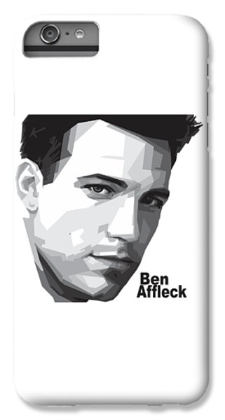 Ben Affleck Portrait Art IPhone 6 Plus Case by Madiaz Roby