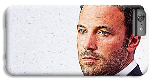 Ben Affleck IPhone 6 Plus Case by Iguanna Espinosa