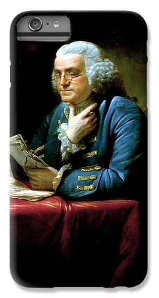 Landmarks iPhone 6 Plus Case - Ben Franklin by War Is Hell Store