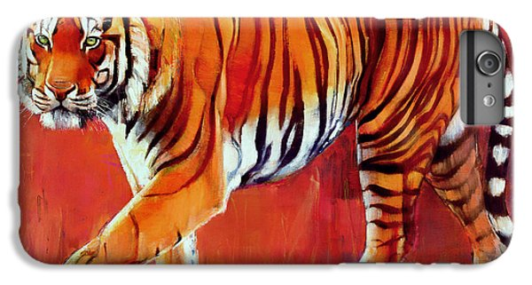 Bengal Tiger  IPhone 6 Plus Case by Mark Adlington