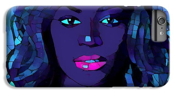 Beyonce Graphic Abstract IPhone 6 Plus Case by Dan Sproul