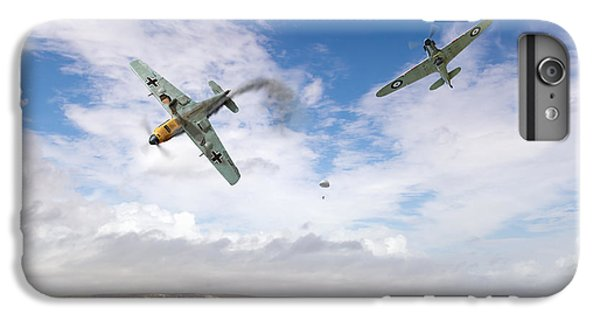 IPhone 6 Plus Case featuring the photograph Bf109 Down In The Channel by Gary Eason