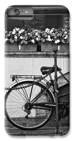Bicycle With Flowers IPhone 6 Plus Case