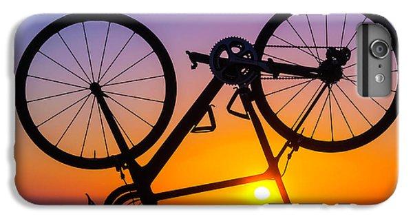 Bicycle iPhone 6 Plus Case - Bike On Seawall by Garry Gay