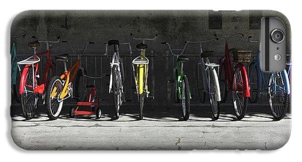 Bicycle iPhone 6 Plus Case - Bike Rack by Cynthia Decker