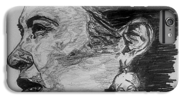 iPhone 6 Plus Case - Billie Holiday by Rachel Natalie Rawlins