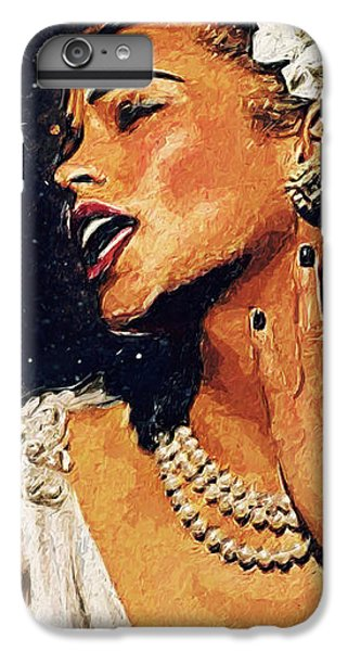 Harlem iPhone 6 Plus Case - Billie Holiday by Taylan Apukovska