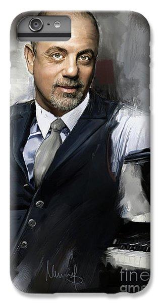 Elton John iPhone 6 Plus Case - Billy Joel by Melanie D