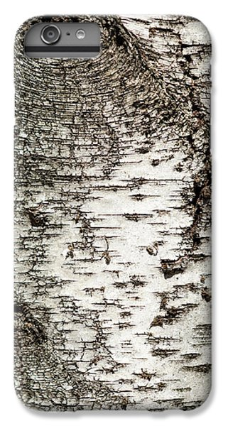 IPhone 6 Plus Case featuring the photograph Birch Tree Bark by Christina Rollo