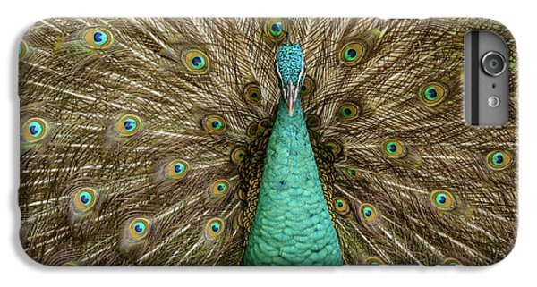 IPhone 6 Plus Case featuring the photograph Peacock by Werner Padarin