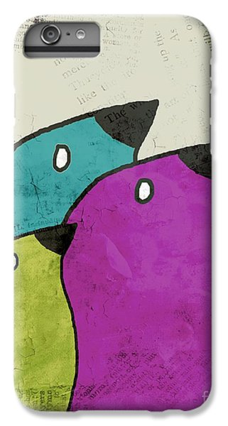 Birdies - V06c IPhone 6 Plus Case by Variance Collections