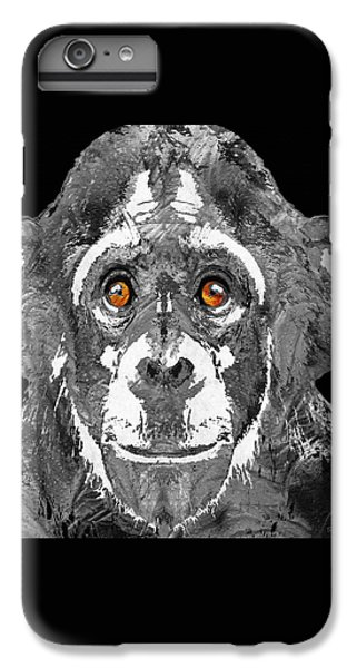 Black And White Art - Monkey Business 2 - By Sharon Cummings IPhone 6 Plus Case by Sharon Cummings