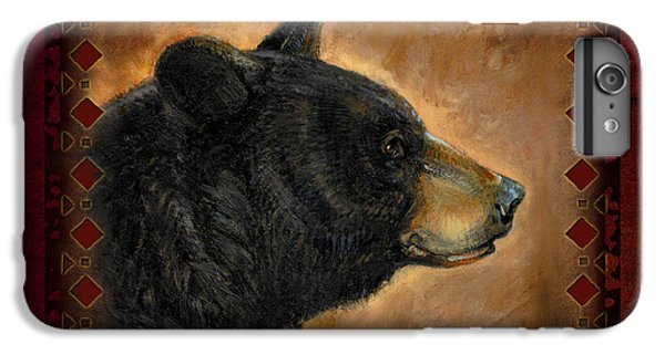 Wildlife iPhone 6 Plus Case - Black Bear Lodge by JQ Licensing