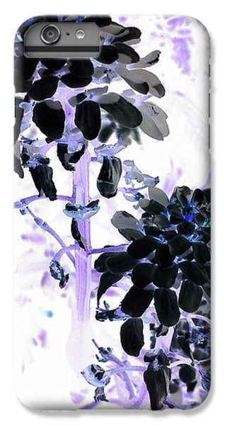 iPhone 6 Plus Case - Black Blooms I I by Orphelia Aristal