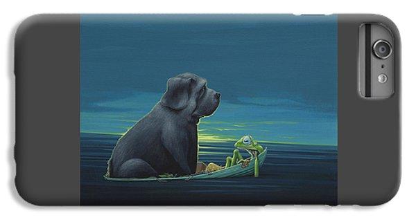 Black Dog IPhone 6 Plus Case by Jasper Oostland