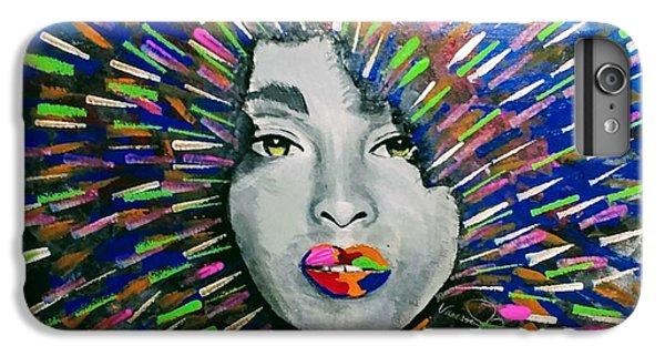 iPhone 6 Plus Case - Black Girl Magic by Vanessa Faith