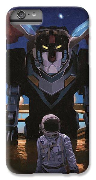 Black Lion IPhone 6 Plus Case
