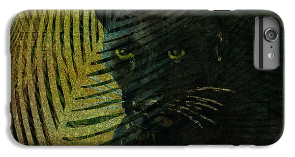 Black Panther IPhone 6 Plus Case by Arline Wagner