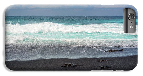 Canary iPhone 6 Plus Case - Black Sand Beach by Delphimages Photo Creations