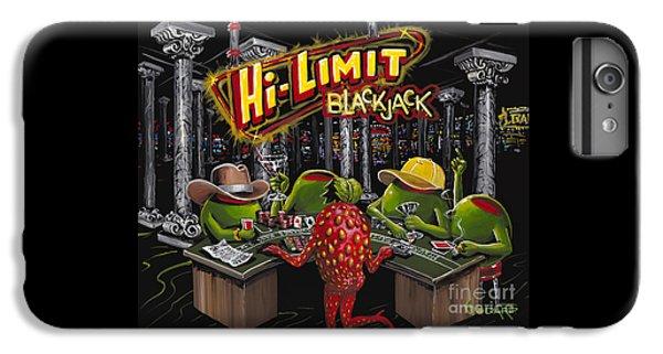 Martini iPhone 6 Plus Case - Blackjack Pimps by Michael Godard