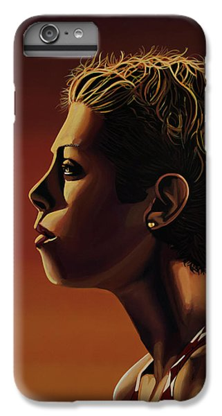 Blanka Vlasic Painting IPhone 6 Plus Case by Paul Meijering