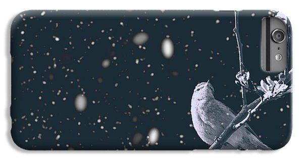 Titmouse iPhone 6 Plus Case - Bleak Winter by Martin Newman