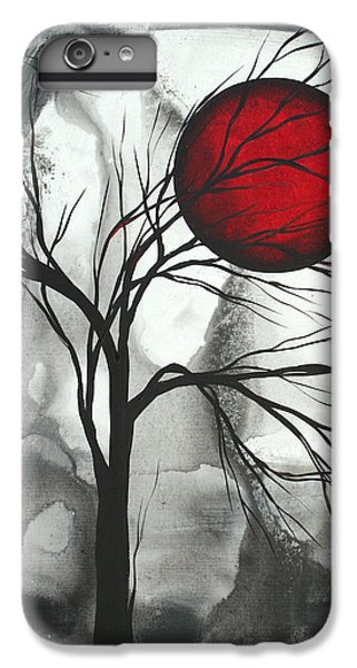 Barren iPhone 6 Plus Case - Blood Of The Moon 2 By Madart by Megan Duncanson