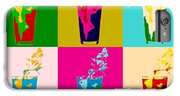Bloody Mary Pop Art Panels IPhone 6 Plus Case by Dan Sproul