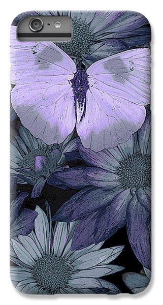 Fairy iPhone 6 Plus Case - Blue Butterfly by JQ Licensing