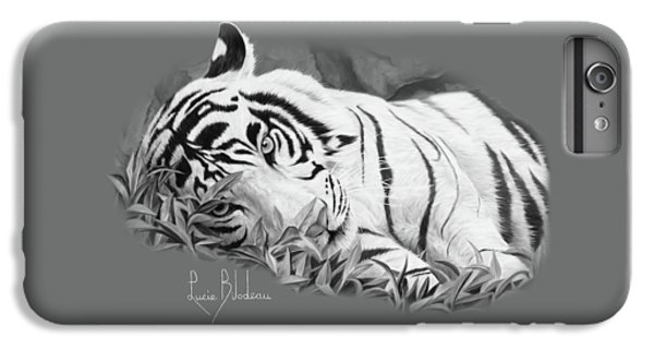 Blue Eyes - Black And White IPhone 6 Plus Case
