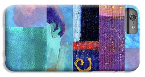 IPhone 6 Plus Case featuring the digital art Blue Love by Nancy Merkle