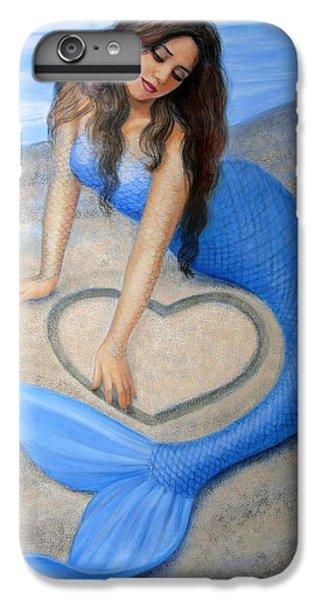 Blue Mermaid's Heart IPhone 6 Plus Case