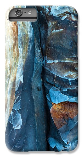 blue Pattern 2 IPhone 6 Plus Case by Jonathan Nguyen