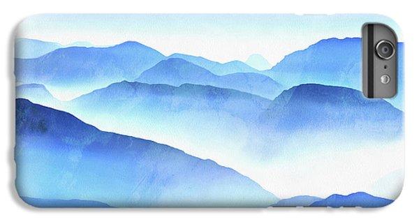 Blue iPhone 6 Plus Case - Blue Ridge Mountains by Edward Fielding