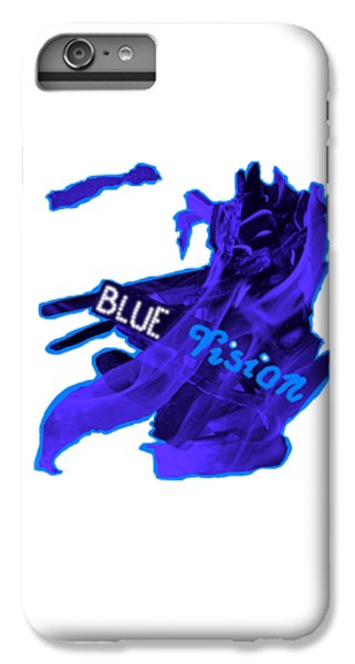 iPhone 6 Plus Case - Blue Vision by Orphelia Aristal