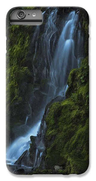 IPhone 6 Plus Case featuring the photograph Blue Waterfall by Yulia Kazansky