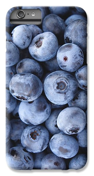 Blueberries Foodie Phone Case IPhone 6 Plus Case by Edward Fielding