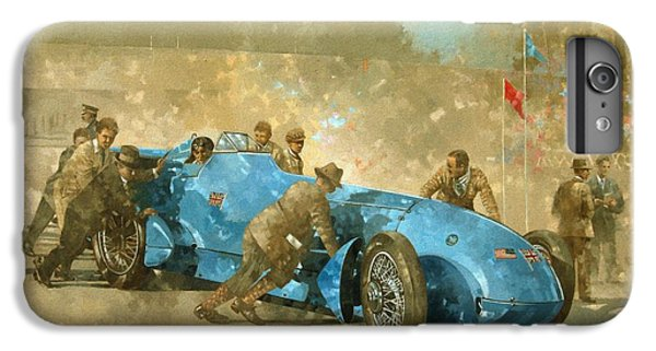 Car iPhone 6 Plus Case - Bluebird by Peter Miller