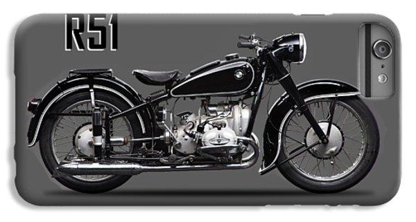 Transportation iPhone 6 Plus Case - Bmw R51 1951 by Mark Rogan